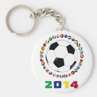 Soccer 2014  2530 key chain