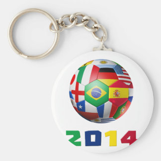 Soccer 2014 keychains