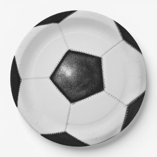 Soccer 9 Inch Paper Plate