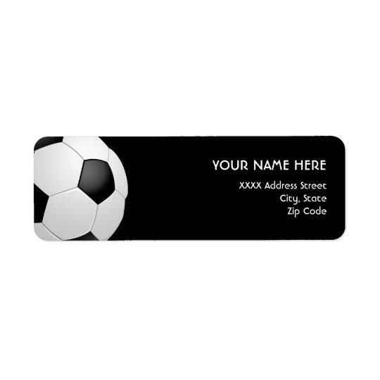 Soccer Address Labels