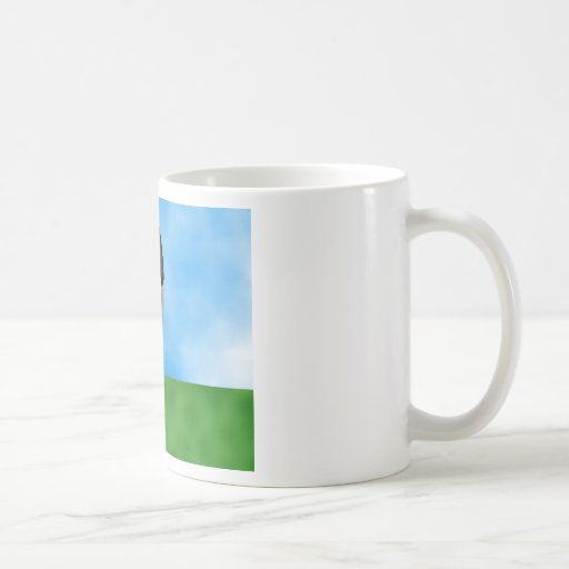 Soccer Background Mug