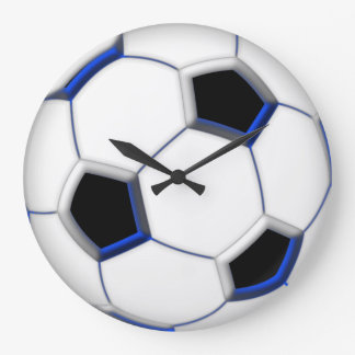 "Soccer Ball 10.75"" Large Clock"