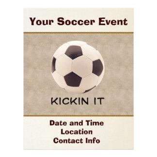 Soccer Ball 21.5 Cm X 28 Cm Flyer