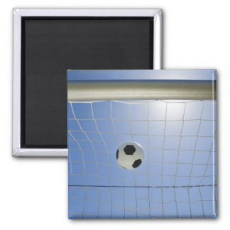 Soccer Ball and Goal 2 Magnet