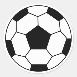 Soccer Ball Black Sticker
