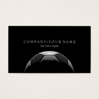 Soccer Ball Business Card