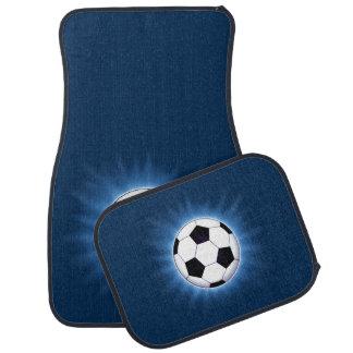 Soccer Ball Car Mat Full Set