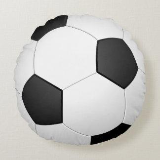 Soccer Ball Circle Sports Round Cushion