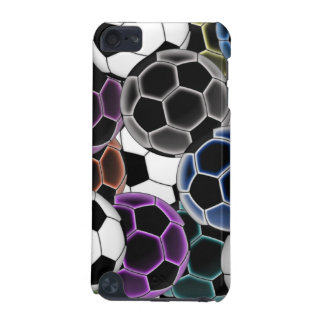 Soccer Ball Collage iPod Hard Shell Case iPod Touch (5th Generation) Covers