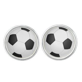 Soccer Ball Cuff Links