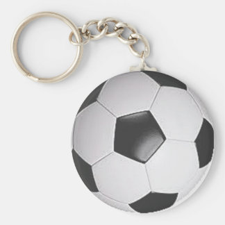 """Soccer Ball"" design gifts and products Key Chain"