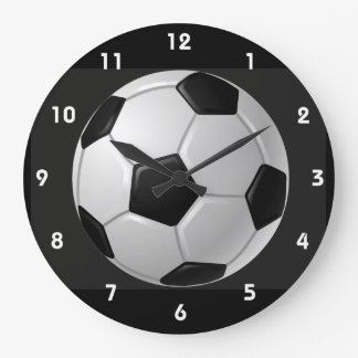 Soccer Ball Design Wall Clock