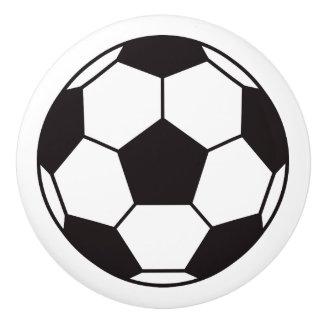 Soccer ball door knob