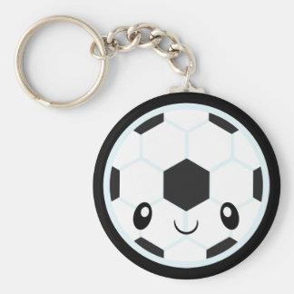Soccer Ball Emoji Key Ring