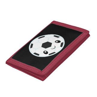 Soccer Ball Emoji Trifold Wallet