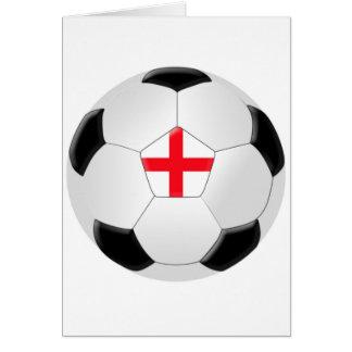 Soccer Ball – England Cards