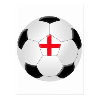 Soccer Ball – England Post Card