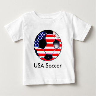 Soccer Ball Flag-USA  Soccer The MUSEUM Gifts Infant T-Shirt