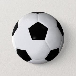 Soccer Ball ( football ) 6 Cm Round Badge