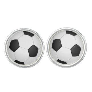 Soccer Ball Football Illustration Cufflinks