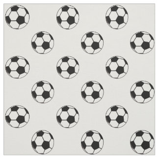 Soccer Ball Football Sports Theme Fabric