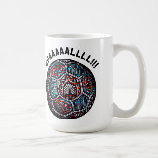 Soccer Ball GOAL Coffee Mug