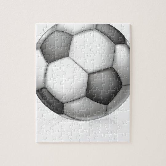 Soccer Ball Illustration Jigsaw Puzzle