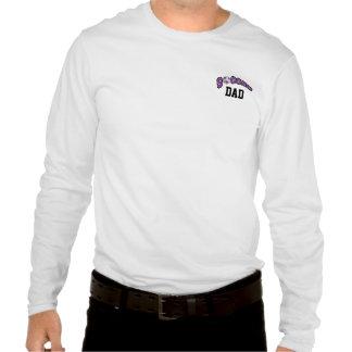 Soccer Ball In Purple Tshirts