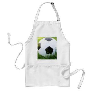 Soccer Ball in the Summer Grass Standard Apron