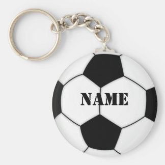 SOCCER BALL KEYCHAIN personalize with name