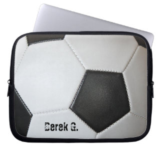 Soccer Ball Laptop Sleeve