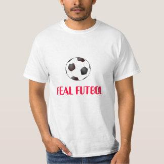 soccer_ball_large, REAL FUTBOL T-Shirt