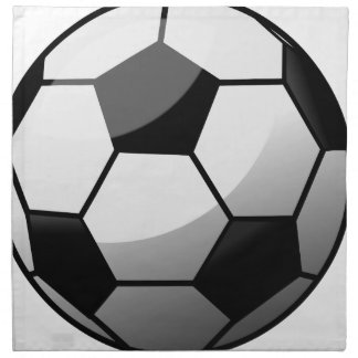 Soccer Ball Napkin