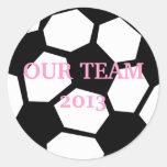 Soccer Ball Personalise It! Sticker