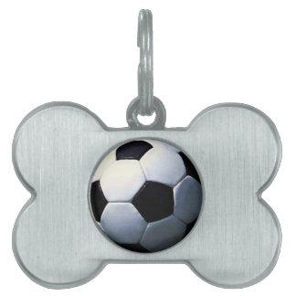 Soccer Ball Pet ID Tag