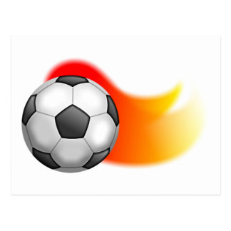Soccer Ball Post Card