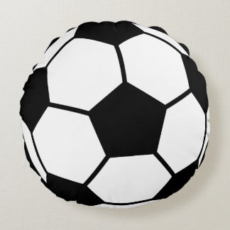 Soccer Ball Round Cushion