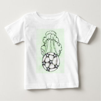 Soccer Ball Sketch 3 Baby T-Shirt
