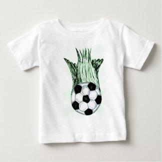 Soccer Ball Sketch 4 Baby T-Shirt
