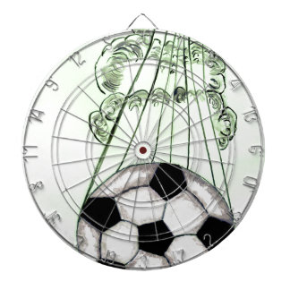 Soccer Ball Sketch 5 Dartboard
