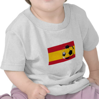 Soccer Ball Spain Flag2 The MUSEUM Zazzle Gifts T Shirts
