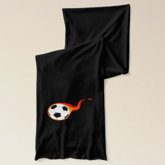 Soccer Ball Sport Peace Love Party Destiny Digital Scarf
