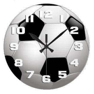 Soccer Ball Sports Clock