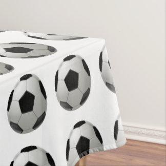 Soccer ball tablecloth
