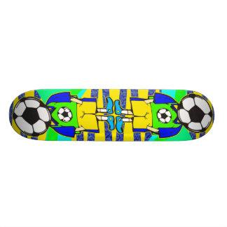 Soccer Ball Team Member Custom Skateboard
