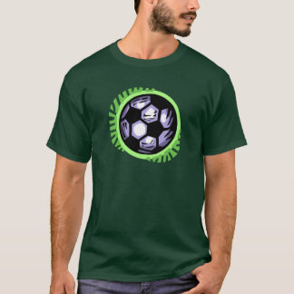 Soccer Ball Team Player T-Shirt