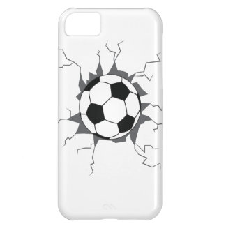 Soccer Ball through wall. iPhone 5C Case