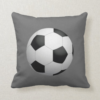 Soccer Ball Throw Pillow