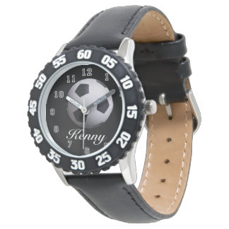 Soccer Ball Time Wrist Watches