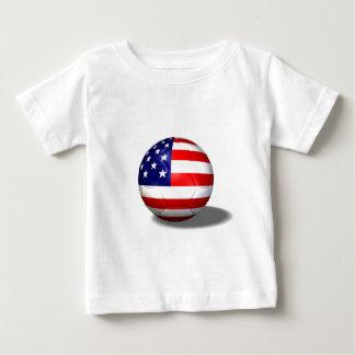 soccer ball usa baby T-Shirt